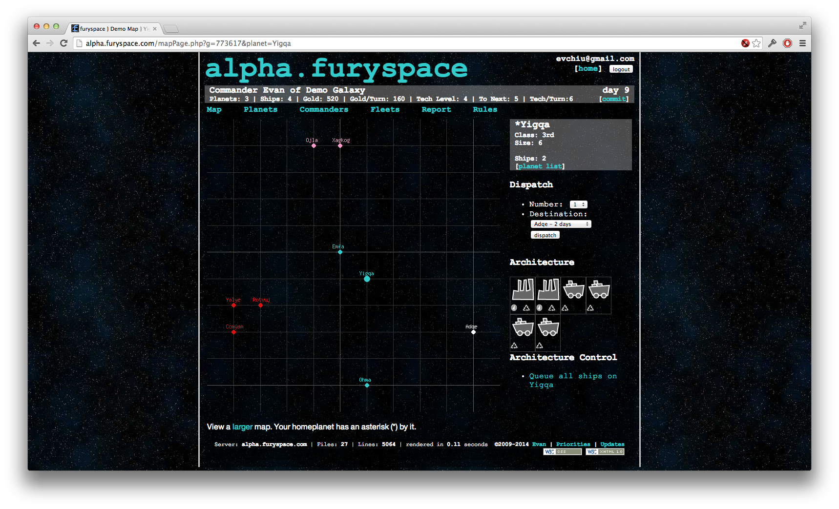 furyspace screenshot
